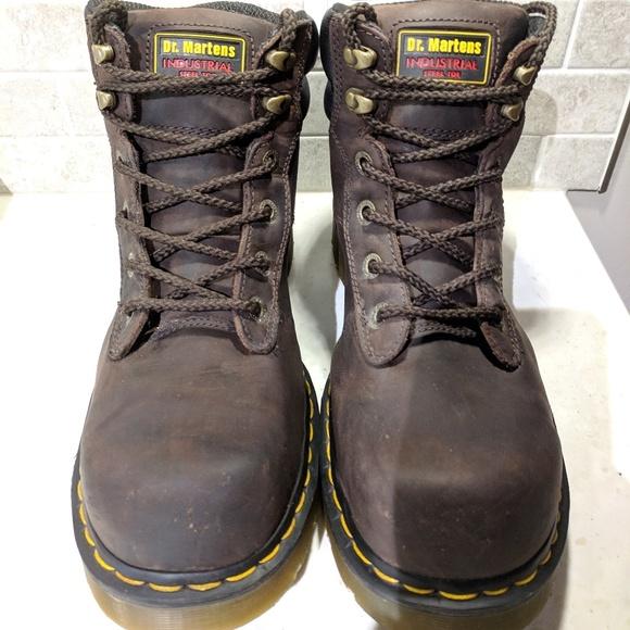 e6484169529 Dr. Martens Work Burnham Steel Toe 6 Tie Boot